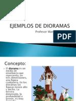 Ejemplos de Dioramas
