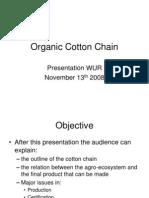 Organic Cotton Chain