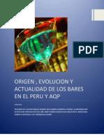 Origen Del Bar Peru Arequipa