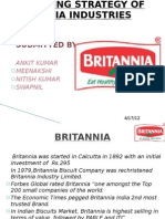 Marketing Strategy of Britannia Industries Limited