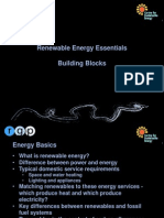 Renewable Energy - Building Blocks