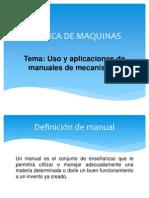 Uso y Aplicaciones de Manuales de Mecanismos