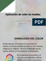 Aplicación de color en medios