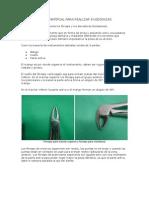 Instrumental y Material Para Realizar Exodoncias