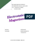 ELECTROSTATICA Y MAGNETISMO