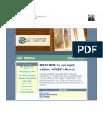 April 2012 KBF eNews