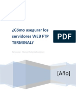 Como Asegurar Los Servidores WEB FTP TERMINAL