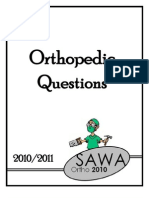 Ortho 26 Exam Questions