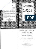 30088860 Sepharial Kabbalistic Astrology