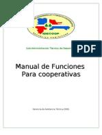 Manual de Funciones Para Cooperativas
