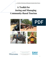 A Toolkit for Monitoring and Managing Community-based Tourism