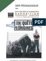 Dossier pédagogique de l'exposition « En quête de nos origines »