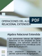 Algebra Relacional Extendido