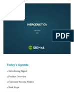 Signal Introduction