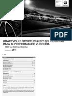 Bmw M-performance Catalogue