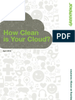How Clean is Your Cloud