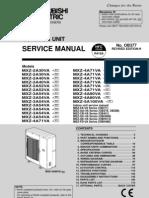 Service Manual MXZ_2 5A30 100VA
