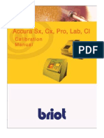 Briot Accura Calibration Manual