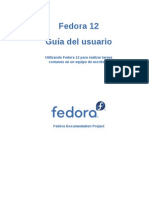 Fedora 12 User Guide Es ES