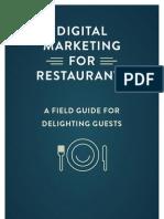 Guide to Digital Marketing for Restaurants