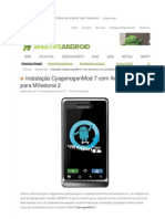 Instalacao Cyagenogenmod 7 Android