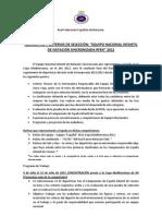 NORMATIVA Y CRITERIOS DE SELECCIÓN INFANTIL 2011_12