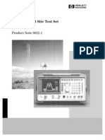 HP8921A Product Note