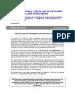 Dia Del Control Ad Or 2005 Comunicado IFATCA