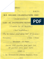 Clec 301 Engg Maths II