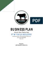 Business Plan Susu Pasteurisasi