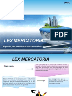 T1 -LEX MERCATORIA