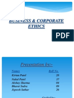 Business Ethics Ppts