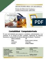 contabilidad computadorizada
