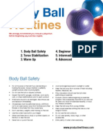 Body Ball Routines