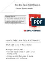 How to Select the Right Ajax Product 685