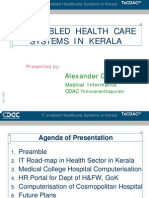 IT Enabled Healthcare Systems in Kerala