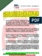 Propostes CGT per al Personal FD al VI Conveni