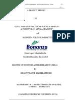 Bonaza Stock Market