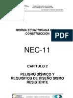 (NEC2011-CAP.2-PELIGRO SISMICO Y REQUISITOS DE DISEÑO SISMO RESISTENTE-021412)