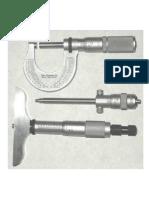 Micrometer Screw Gauge