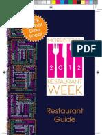 Morristown Restaurant Guide