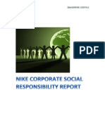 Nike Responses Corporate Social Responsibility