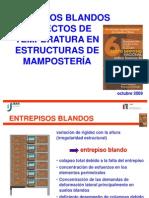 Entrepisos Blandos y Efectos de Temperatura Presentacion - Rjp