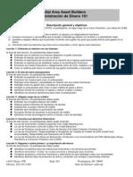 """Clases de """"Cómo Manejar Su Dinero"""" - Descripción general y objetivos"""