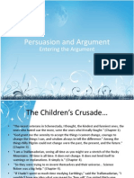 Persuasion and Argument - Salughterhouse Five