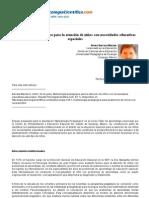 Psicologiapdf 185 Metodologia Pedagogic A Para La Atencion de Ninos Con Necesidades Educativas Espe