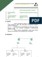 Laporan DNS Dan Samba Pada OS Linux
