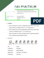 Laporan Praktikum Instalasi Dan Konfigurasi DHCP Pada OS Linux