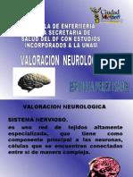 VALORACION NEUROLOGICA  (ITZMA)
