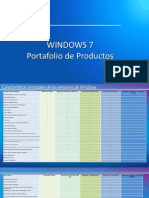 Windows 7 Port a Folio de Productos
